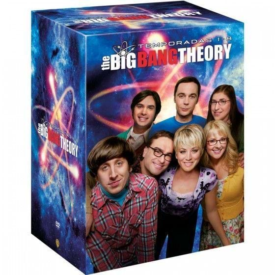 THE BIG BANG THEORY: TEMPORADAS 1-8 (PACK DVD)