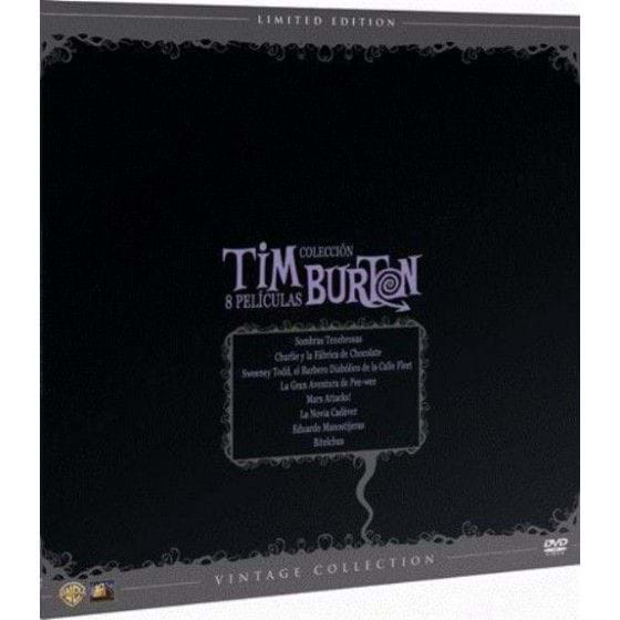 TIM BURTON: VINTAGE COLLECTION - EDIC. LIMITADA (DVD)