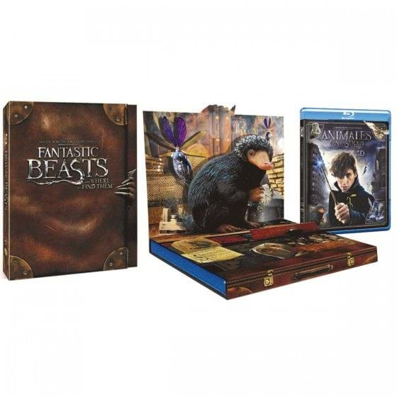 ANIMALES FANTÁSTICOS Y DÓNDE ENCONTRARLOS + PACKAGING POPUP [BLU-RAY/3D]