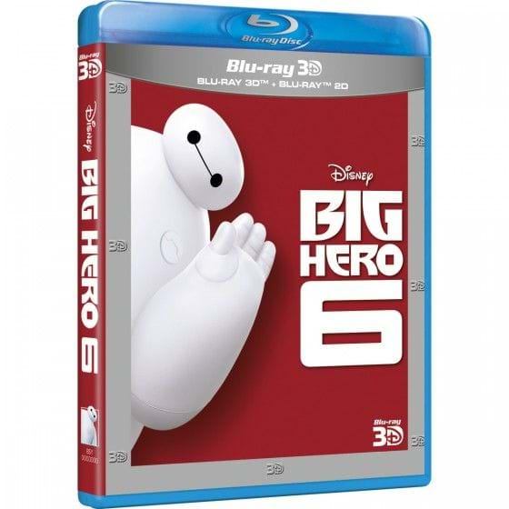 BIG HERO 6 [BLU-RAY/3D]