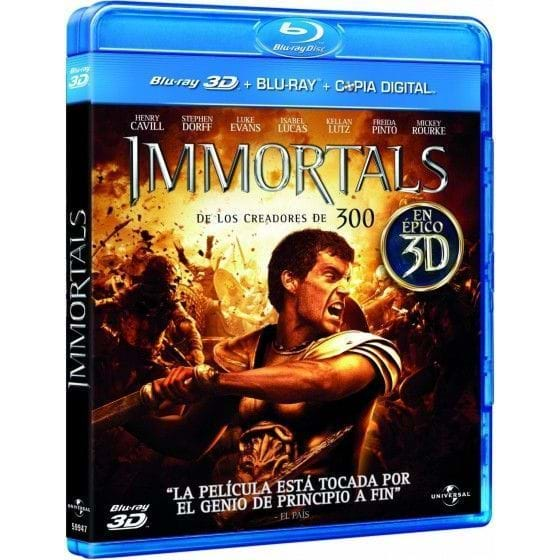 IMMORTALS [BLU-RAY/3D]