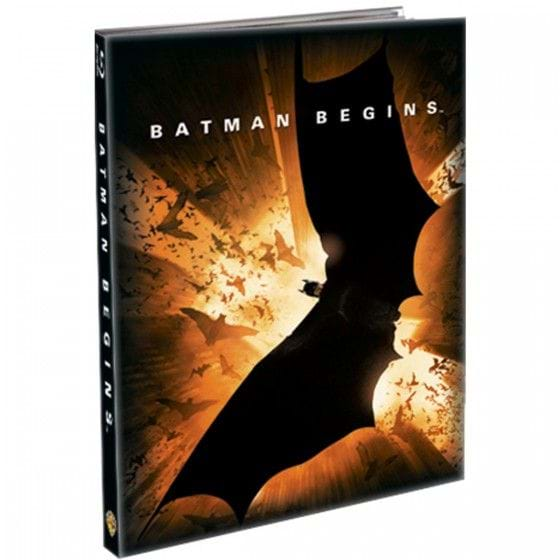 BATMAN BEGINS - EDIC. LIBRO [BLU-RAY]