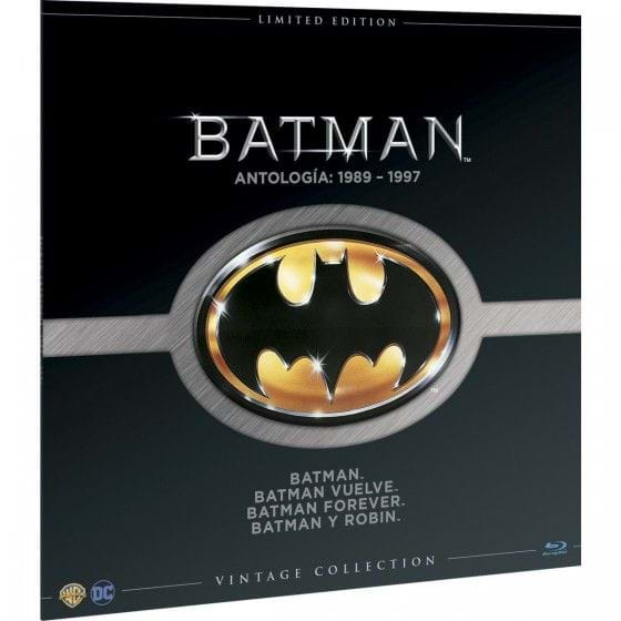 BATMAN: VINTAGE COLLECTION - EDIC. LIMITADA [BLU-RAY]