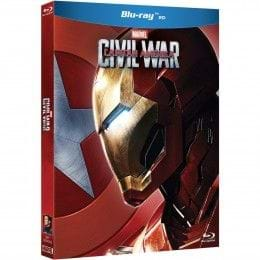 Capitán América: Civil War - Funda Bando Iron Man [BLU-RAY]