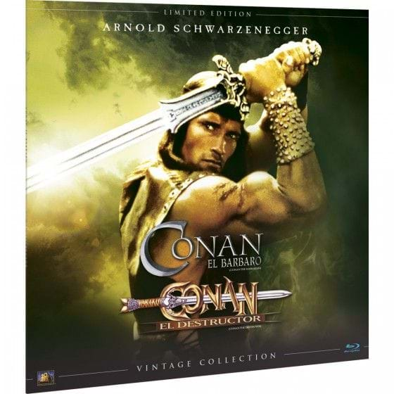 CONAN: EL BÁRBARO - VINTAGE COLLECTION - EDIC. LIMITADA [BLU-RAY]