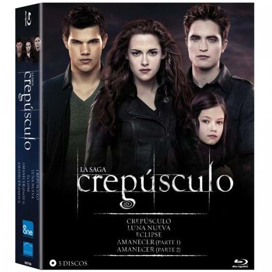 CREPÚSCULO: TWILIGHT - SAGA (2014) [BLU-RAY]