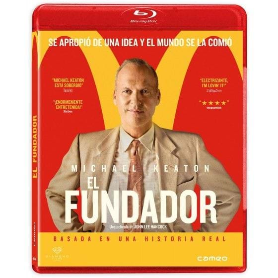 EL FUNDADOR (2017) [BLU-RAY]