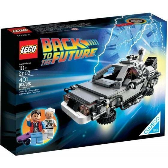 LEGO IDEAS - 21103 - THE DELOREAN TIME MACHINE