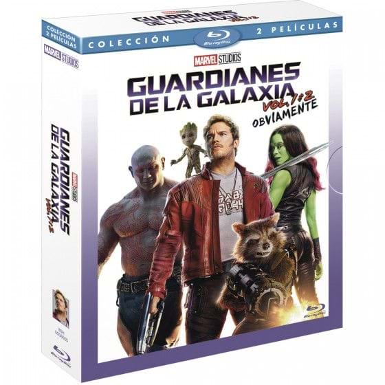 GUARDIANES DE LA GALAXIA PACK VOL. 1+2 [BLU-RAY]