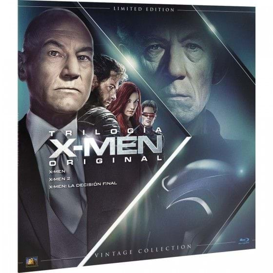 X-MEN: TRILOGÍA ORIGINAL - VINTAGE COLLECTION - EDIC. LIMITADA [BLU-RAY]