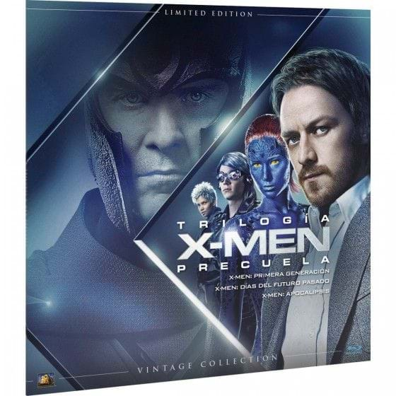 X-MEN: TRILOGÍA PRECUELA - VINTAGE COLLECTION - EDIC. LIMITADA [BLU-RAY]