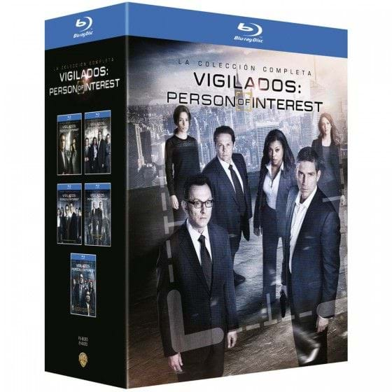 VIGILADOS: PERSON OF INTEREST - COLECCIÓN COMPLETA [BLU-RAY]