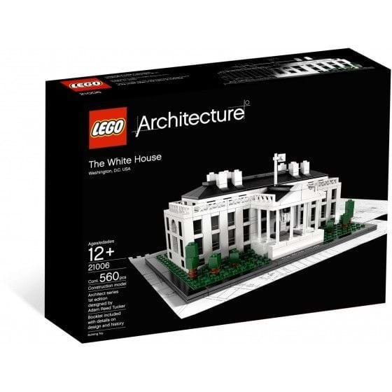 LEGO ARCHITECTURE - 21006 - THE WHITE HOUSE