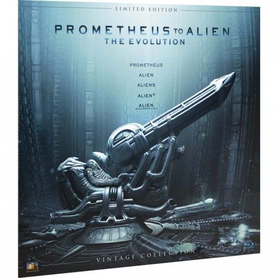 PROMETHEUS TO ALIEN: THE EVOLUTION - VINTAGE COLLECTION - EDIC. LIMITADA [BLU-RAY]