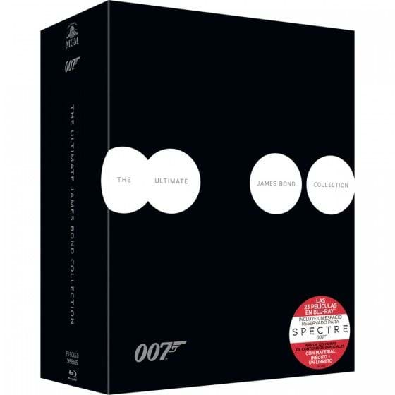 THE JAMES BOND COLLECTION 2015 (PACK 23+1) (ED. PREMIUM) [BLU-RAY]