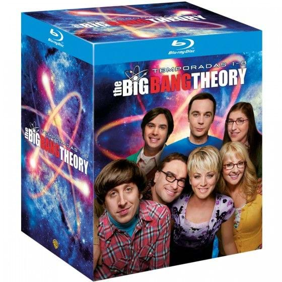 THE BIG BANG THEORY: TEMPORADAS 1-8 [PACK BLU-RAY]