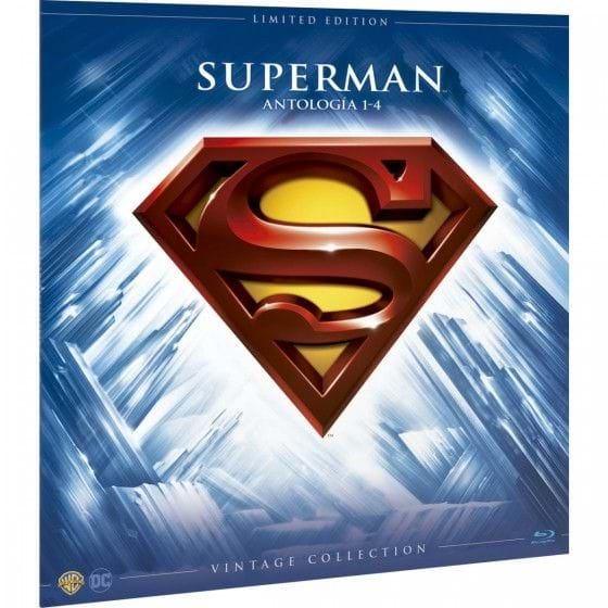 SUPERMAN: ANTOLOGÍA - VINTAGE COLLECTION - EDIC. LIMITADA [BLU-RAY]