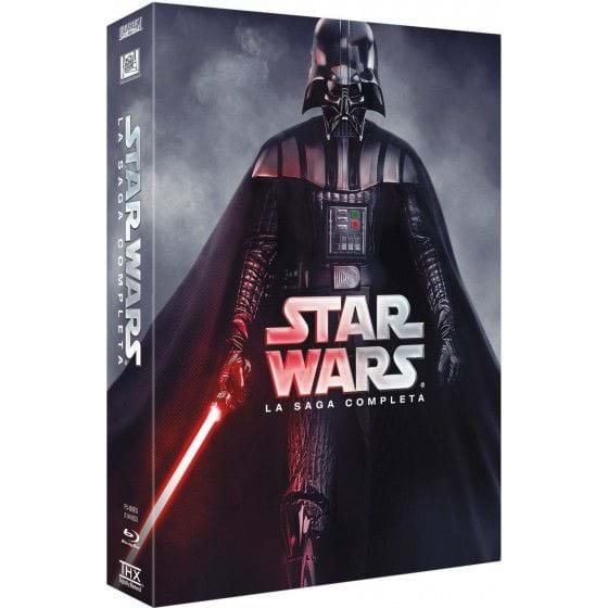 STAR WARS: SAGA COMPLETA (2015) [BLU-RAY]