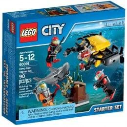 LEGO CITY - 60091 - SET DE INTROCUCCIÓN: EXPLORACIÓN SUBMARINA