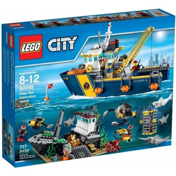 LEGO CITY - 60095 - BUQUE DE EXPLORACIÓN SUBMARINA