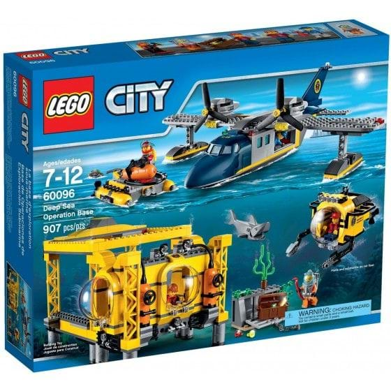 LEGO City - 60096 - Base de Operaciones de Exploración Submarina