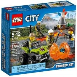 LEGO City - 60120 - Volcán: Set de Introducción