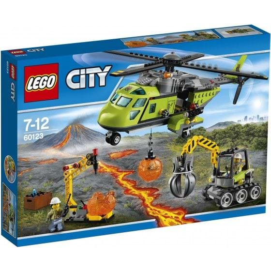 LEGO CITY - 60123 - VOLCANO SUPPLY HELICOPTER