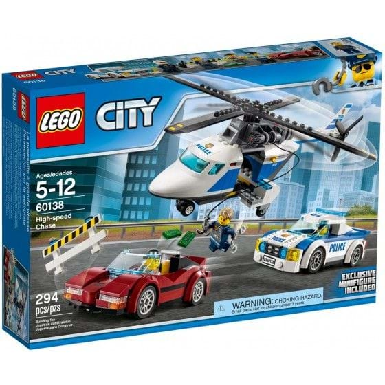 LEGO CITY - 60138 - HIGH-SPEED CHASE