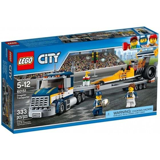 LEGO City - 60151 - Transporte del Dragster