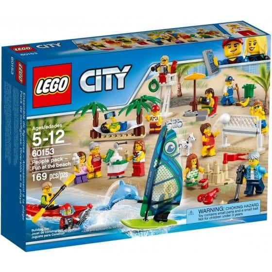 LEGO CITY - 60153 - PEOPLE PACK - FUN AT THE BEACH