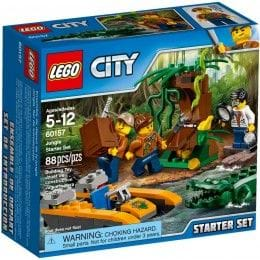LEGO CITY - 60157 - JUNGLA: JUNGLE STARTER
