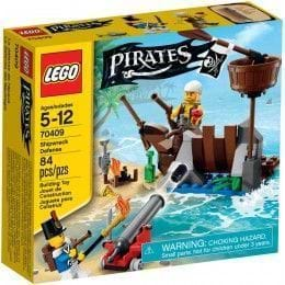 LEGO PIRATES - 70409 - DEFENSA DEL NAUFRAGIO