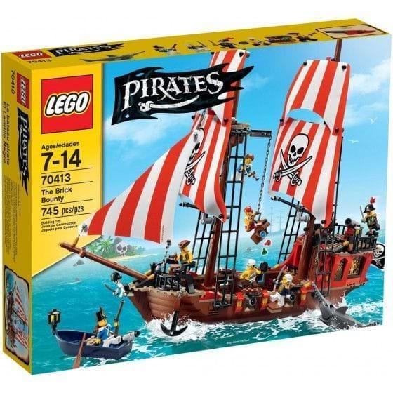 LEGO Pirates - 70413 - El Ladrillo Negro