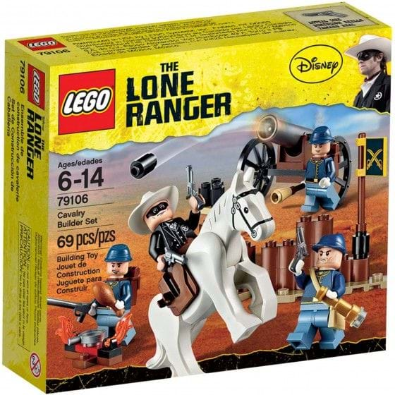 LEGO THE LONE RANGER - 79106 - CAVALRY BUILDER