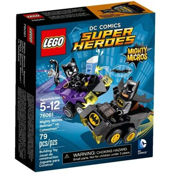 LEGO DC COMICS SUPER HEROES - 76061 - MIGHTY MICROS: BATMAN VS. CATWOMAN