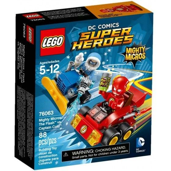 LEGO DC COMICS SUPER HEROES - 76063 - MIGHTY MICROS: THE FLASH VS. CAPTAIN COLD