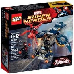 LEGO MARVEL SUPER HEROES - 76036 - ATAQUE AÉREO DE MATANZA A SHIELD