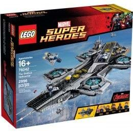 LEGO MARVEL SUPER HEROES - 76042 - EL HELITRANSPORTE DE SHIELD