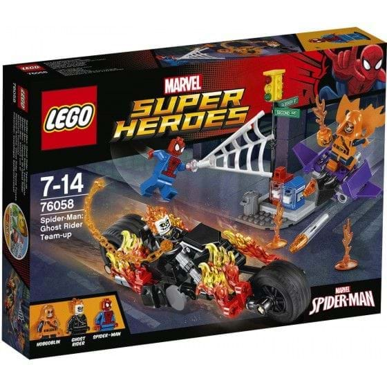 LEGO MARVEL SUPER HEROES - 76058 - SPIDERMAN: GHOST RIDER TEAM-UP