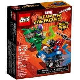 LEGO Marvel Super Heroes - 76064 - Mighty Micros: Spider-Man vs. Duende Verde