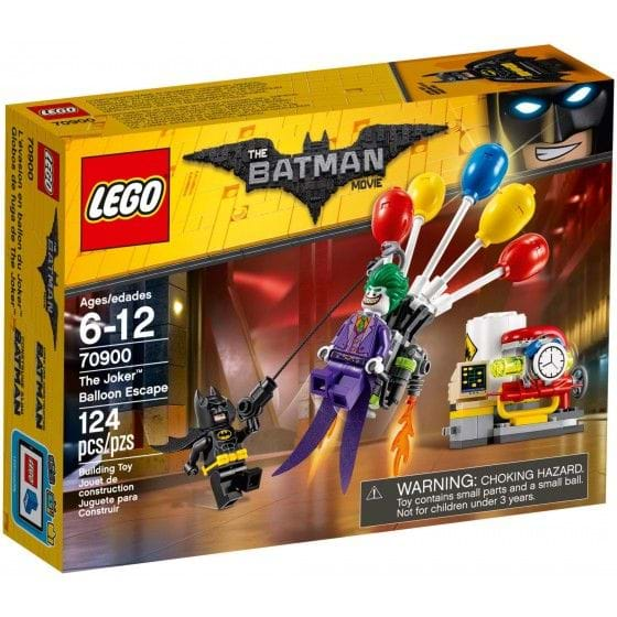 LEGO The Lego Batman Movie - 70900 - Globos de fuga de The Joker