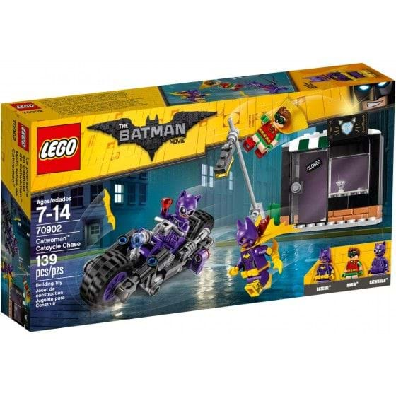 LEGO THE LEGO BATMAN MOVIE - 70902 - CATWOMAN CATCYCLE CHASE