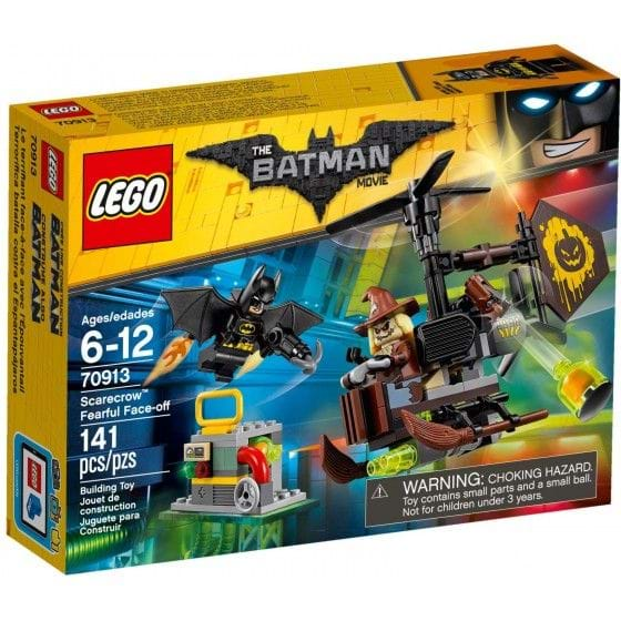LEGO THE LEGO BATMAN MOVIE - 70913 - SCARECROW FEARFUL FACE-OFF