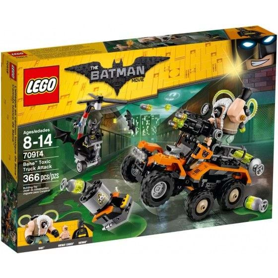LEGO THE LEGO BATMAN MOVIE - 70914 - BANE TOXIC TRUCK ATTACK