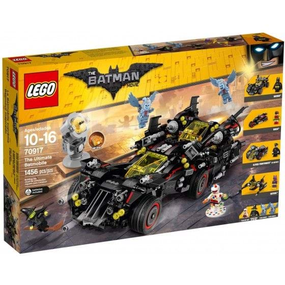 LEGO The Lego Batman Movie - 70917 - Batmóvil mejorado