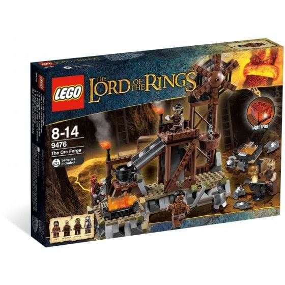 LEGO THE LORD OF THE RINGS - 9476 - THE ORC FORGE