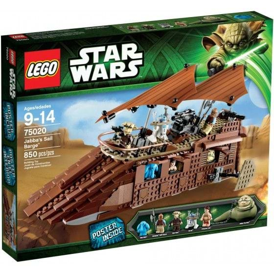 LEGO STAR WARS - 75020 - JABBA'S SAILBARGE