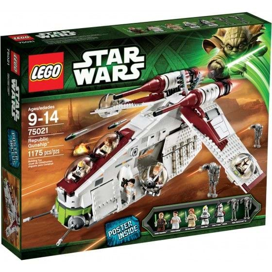 LEGO Star Wars - 75021 - Republic Gunship