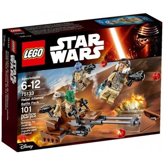 LEGO Star Wars - 75133 - Pack de combate rebelde