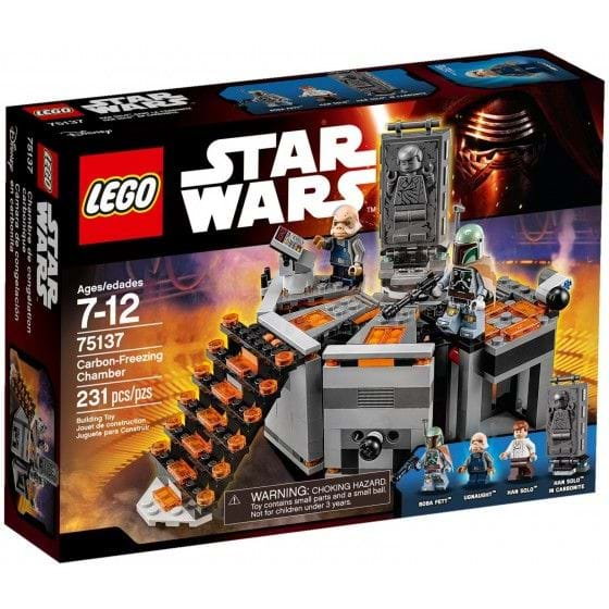 LEGO STAR WARS - 75137 - CARBON-FREEZING CHAMBER